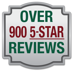 Over 900 5-Star Reviews