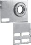 HEAVY DUTY, 12 GAUGE STEEL END BEARING PLATES